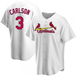 Dylan Carlson St. Louis Cardinals Replica Home Jersey - White