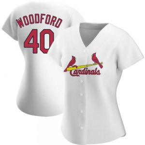 Jake Woodford St. Louis Cardinals Women's Replica Home Jersey - White