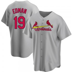 Tommy Edman St. Louis Cardinals Youth Replica Road Jersey - Gray