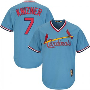 Andrew Knizner St. Louis Cardinals Replica Cool Base Alternate Cooperstown Majestic Jersey - Light Blue